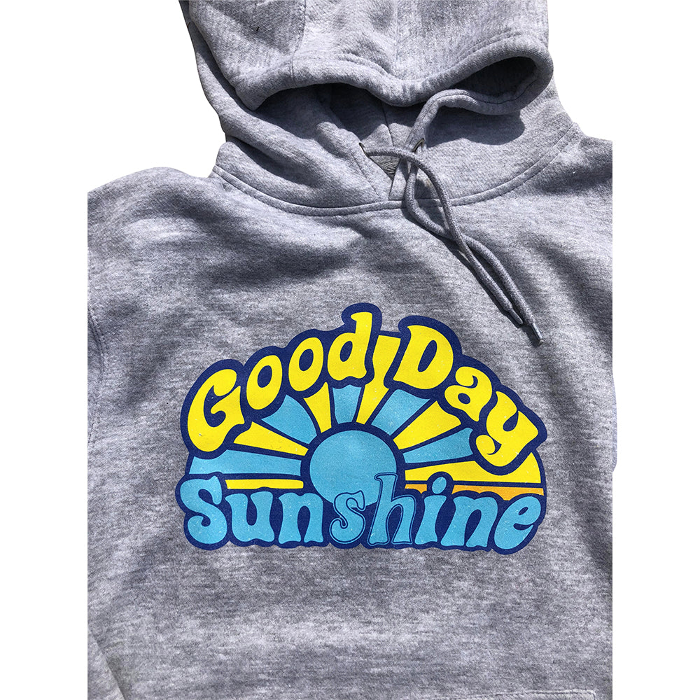 Dweegz: Good Day Sunshine Adult Hoodie grey