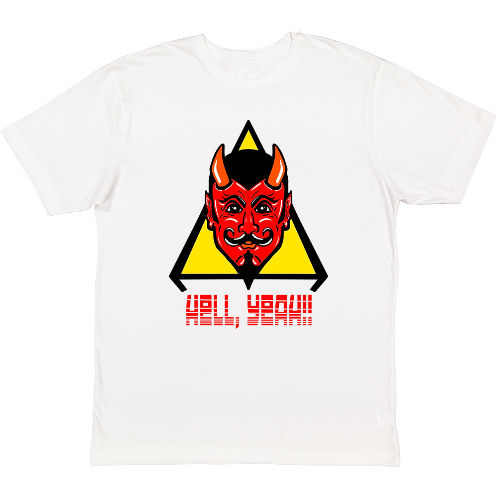 Into Forever- Hell, Yeah Adult Short Sleeve Tee White