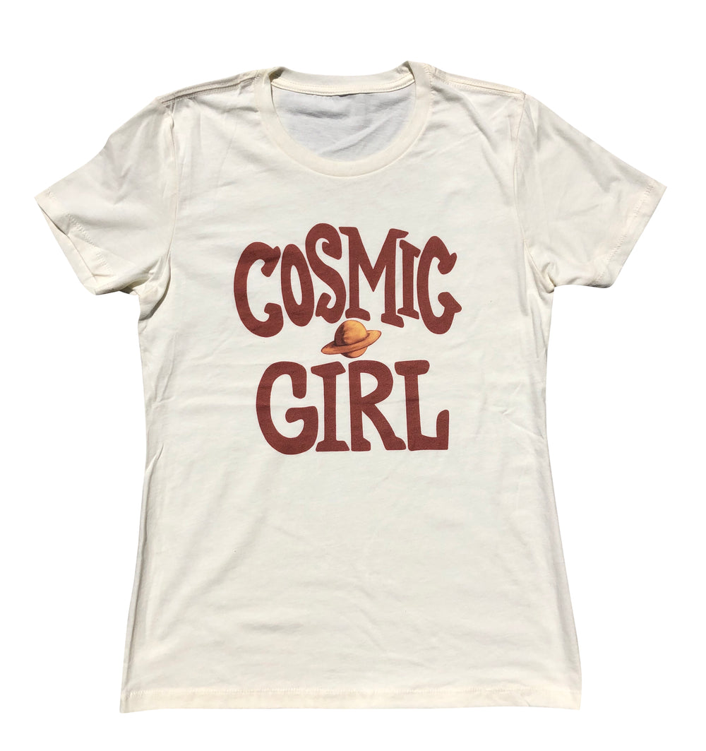 Neimy Kanani: Cosmic Girl Womens Tee Vintage White