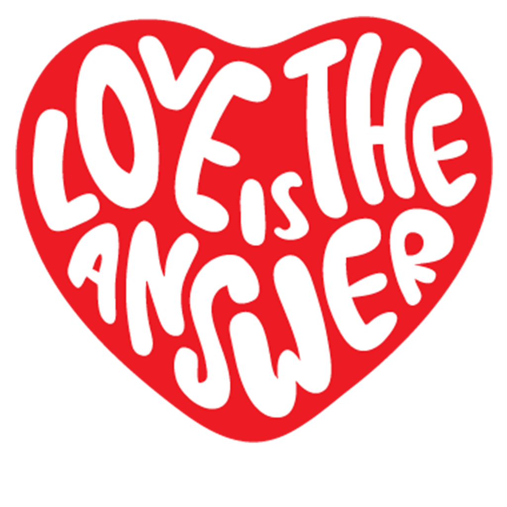 Dweegz: Love is the Answer- Adult Women's natural tee