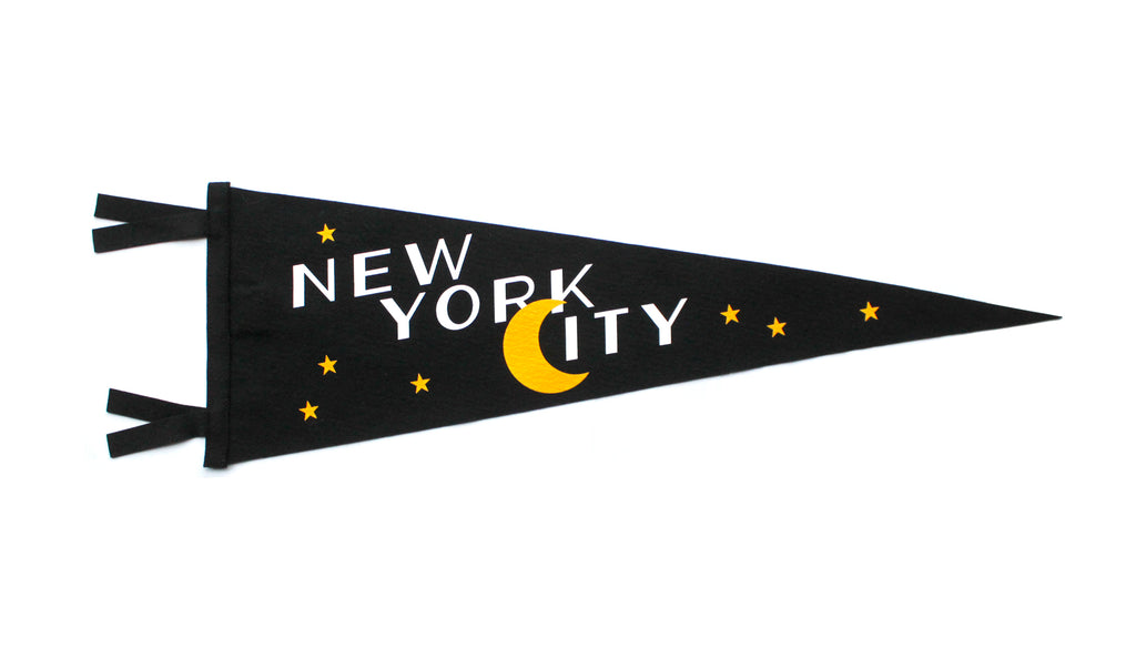 NYC Pennant by Oxford Pennent