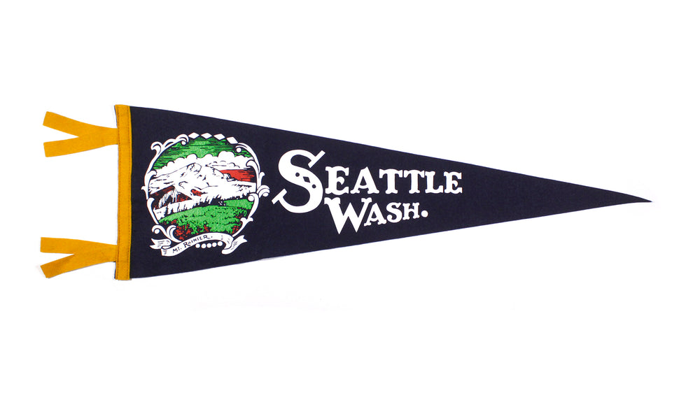 Seattle Pennant by Oxford Pennant