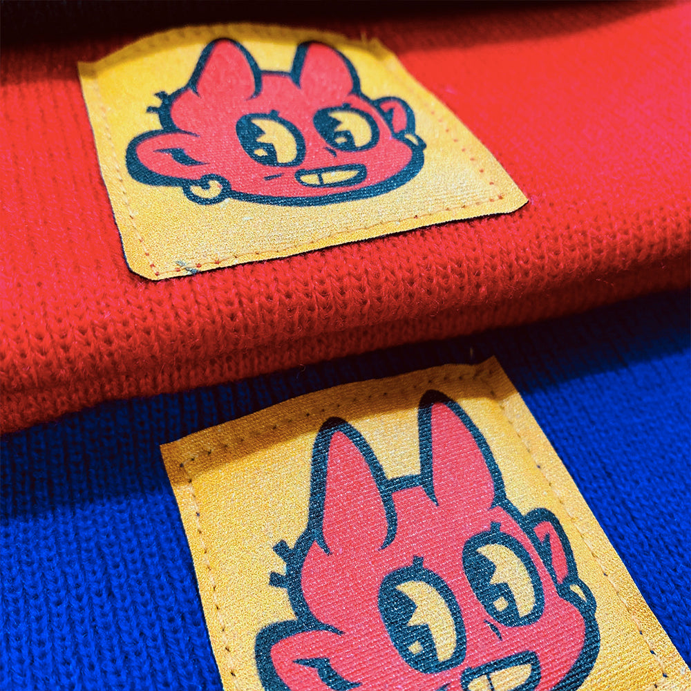 Levitzo- Ramen Demon Beanie Red