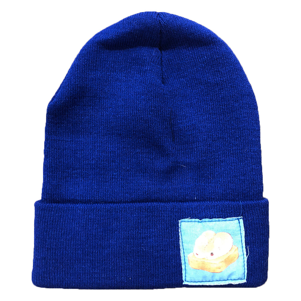 Heathersketcheroos: Beanie- Royal with Toasty Buns