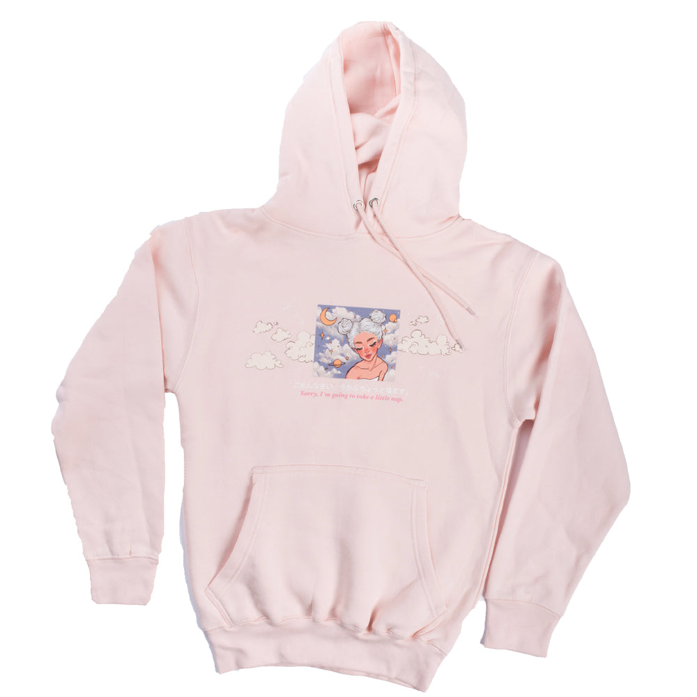 Neimy Kanani : Sorry, I'm Going To Take A Little Nap Adult Hoodie Pink