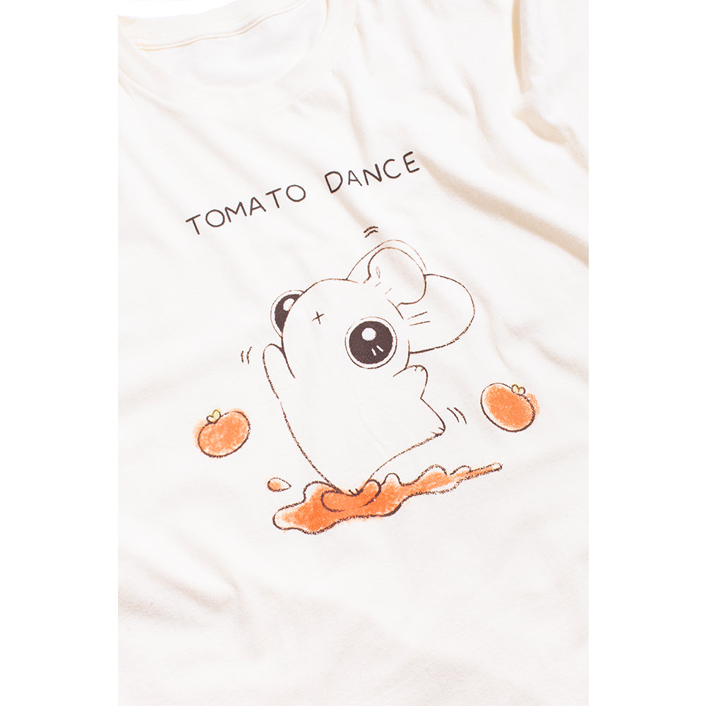 Heathersketcheroos: Tomato Dance Unisex Tee Natural