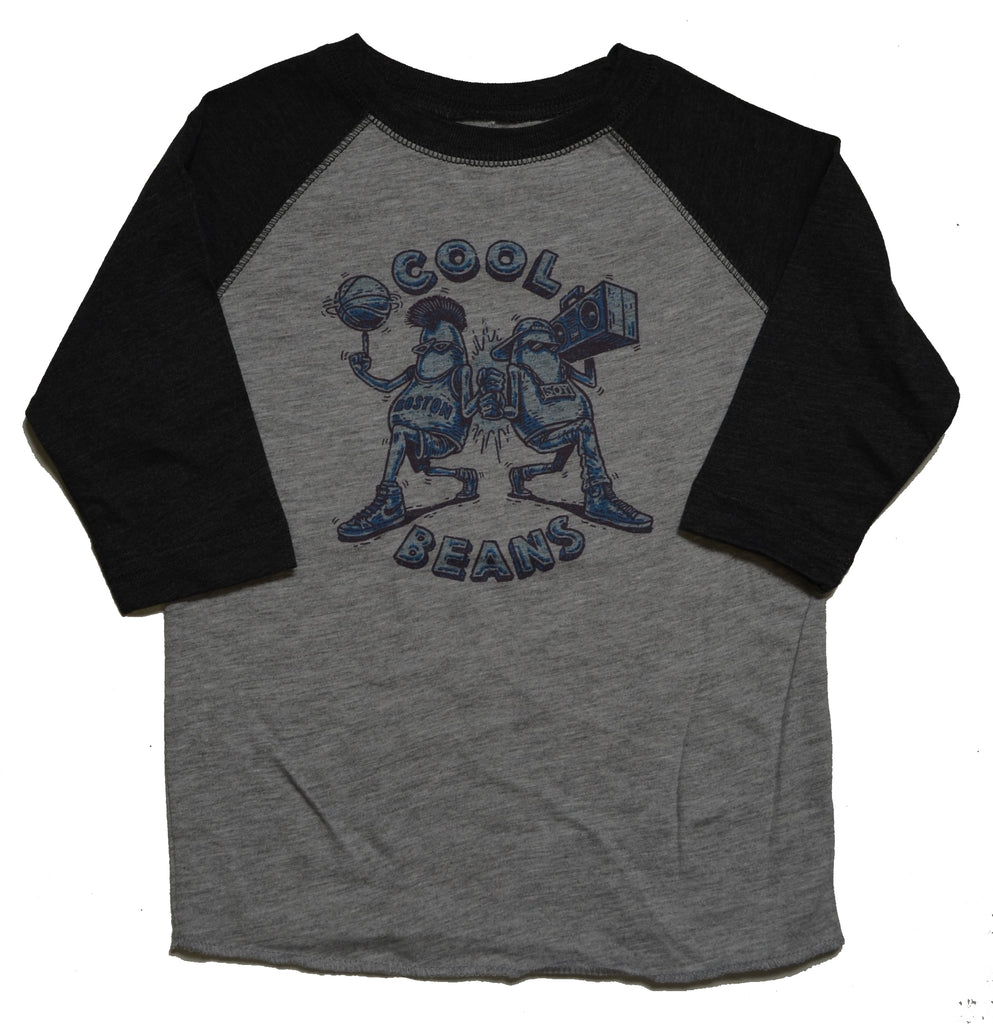 Washbeast Cool Beans Raglan Tee navy/heather