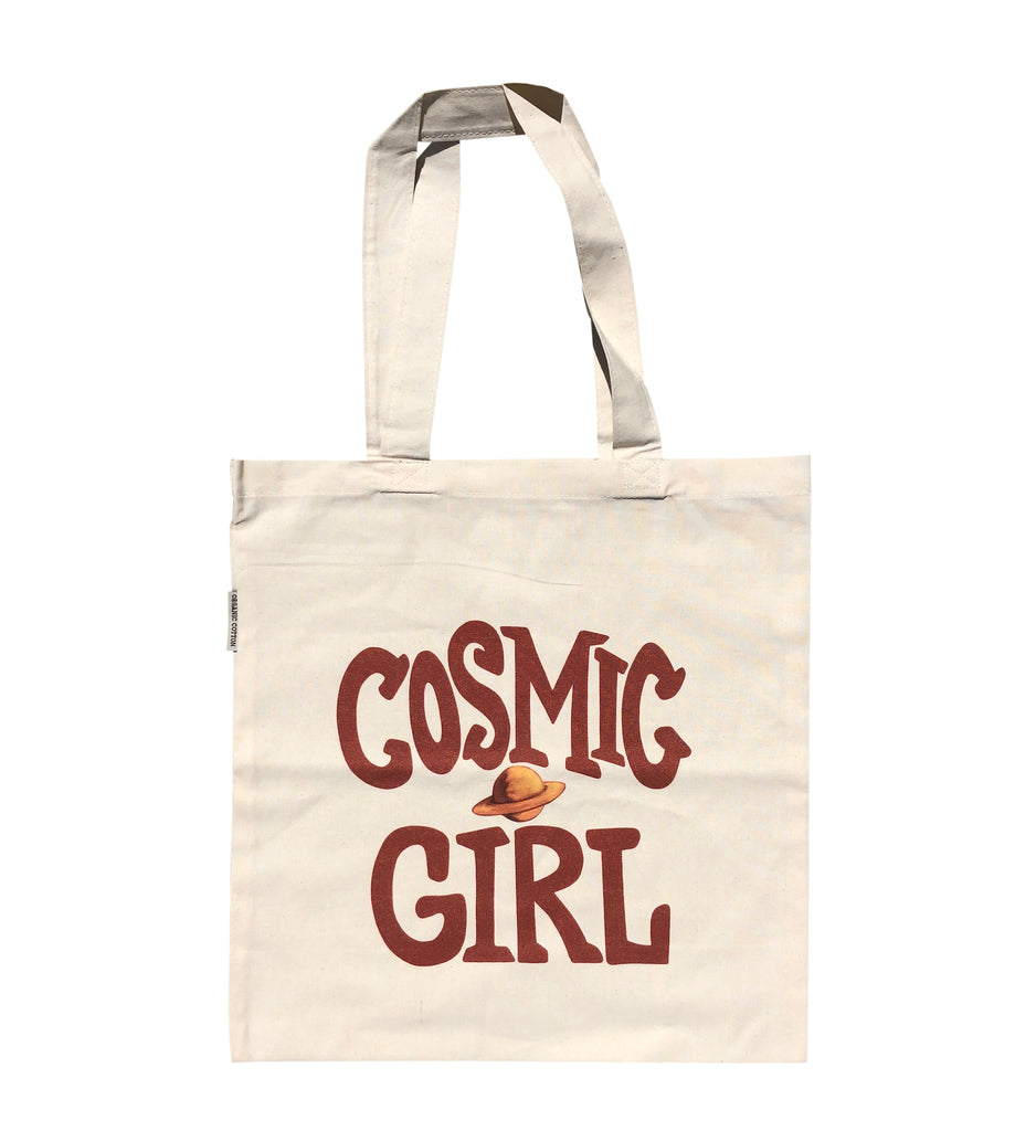 Neimy Kanani: Cosmic Girl Tote Bag Organic Cotton