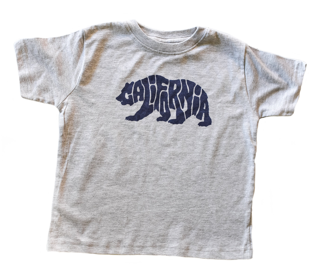 DC Cali Bear Tee Heather