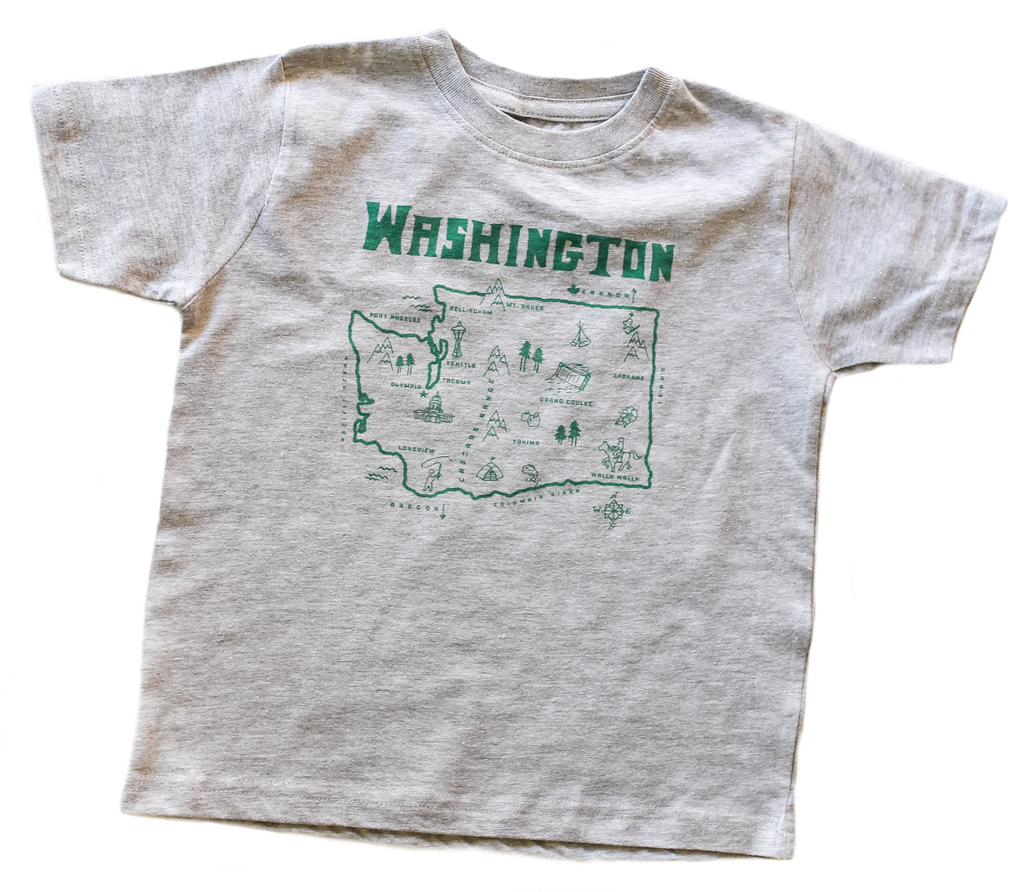 DC Washington Tee Heather