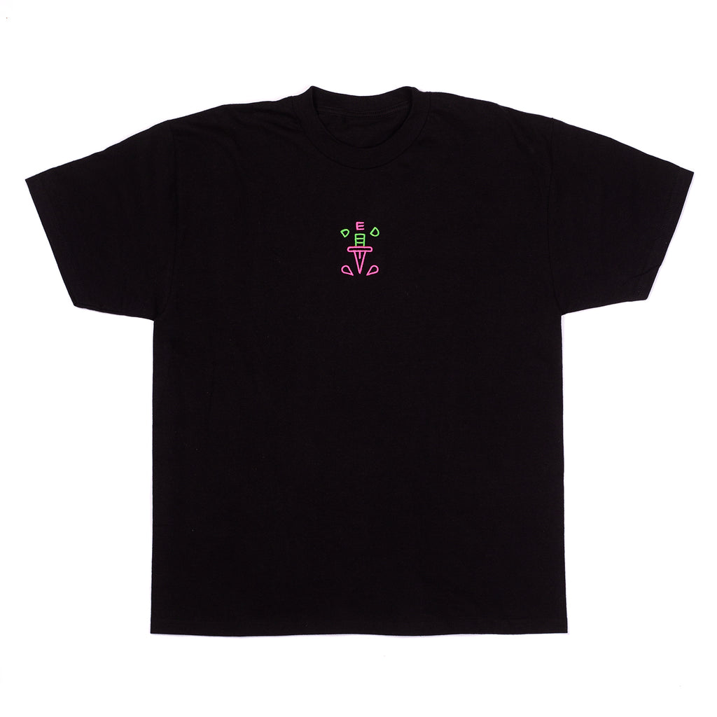 Levitzo: DED Embroidered Unisex Tee Black