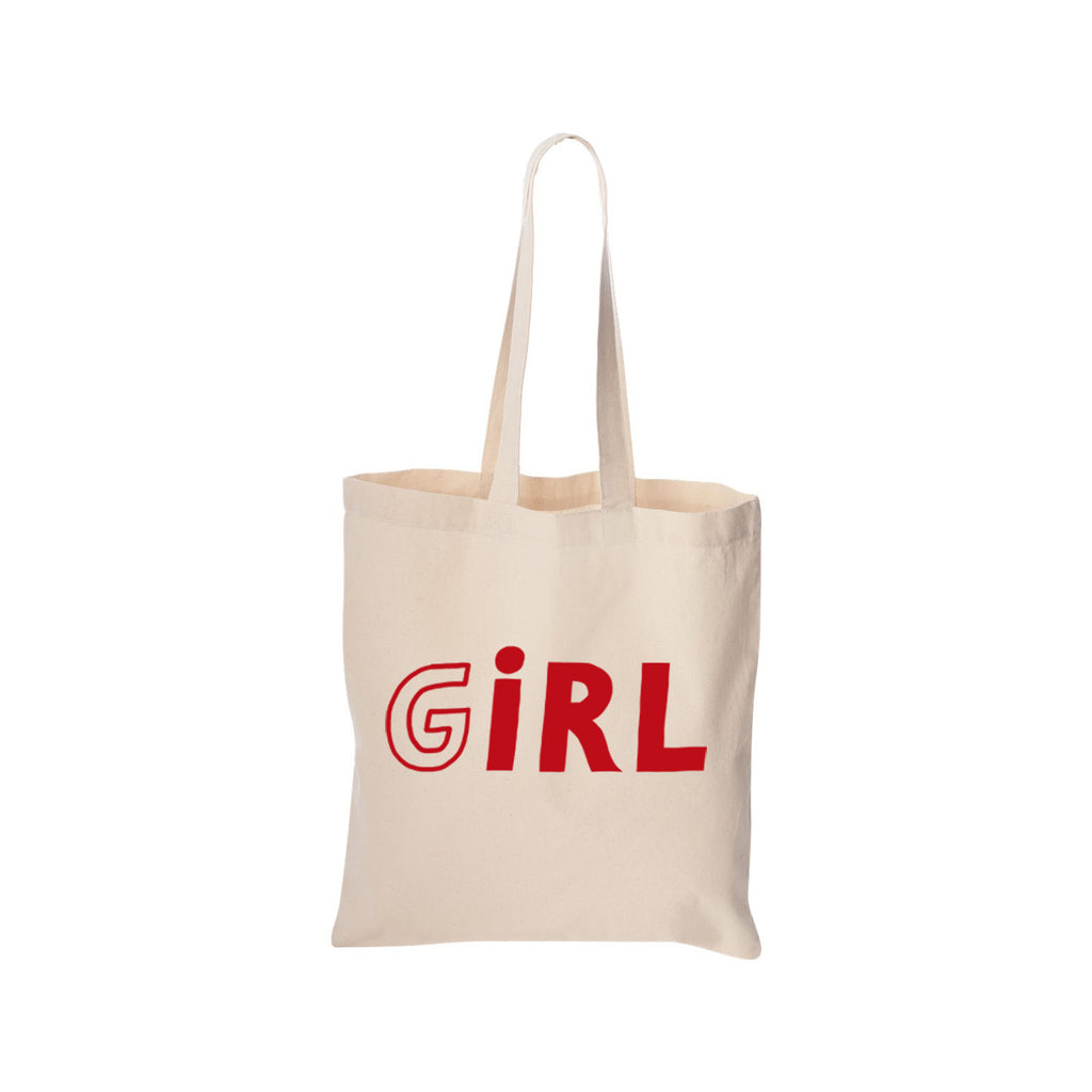 Nina Cosford : GIRL Canvas Tote Bag