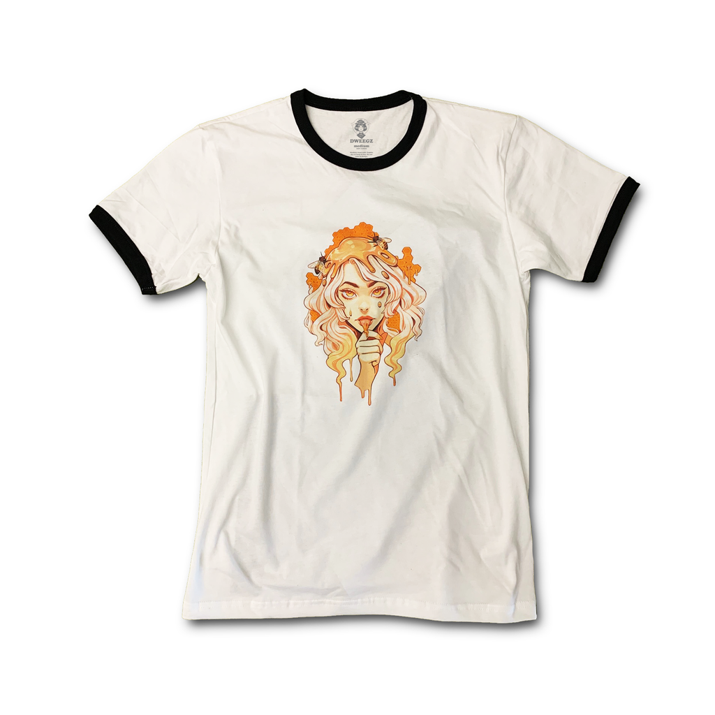 Lord Gris: BeeBabe Adult Ringer Tee