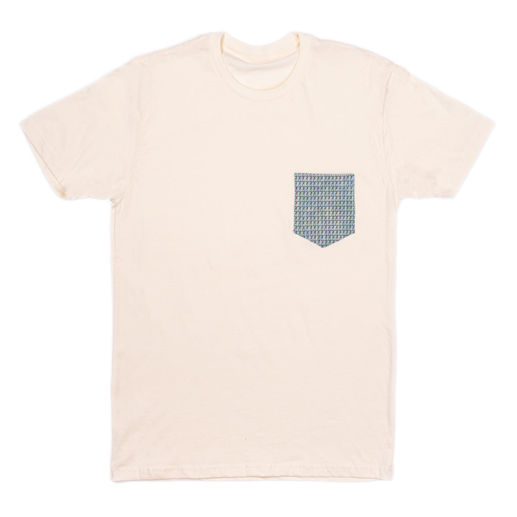 Levitzo: ButtGuy Pocket Tee Vintage White