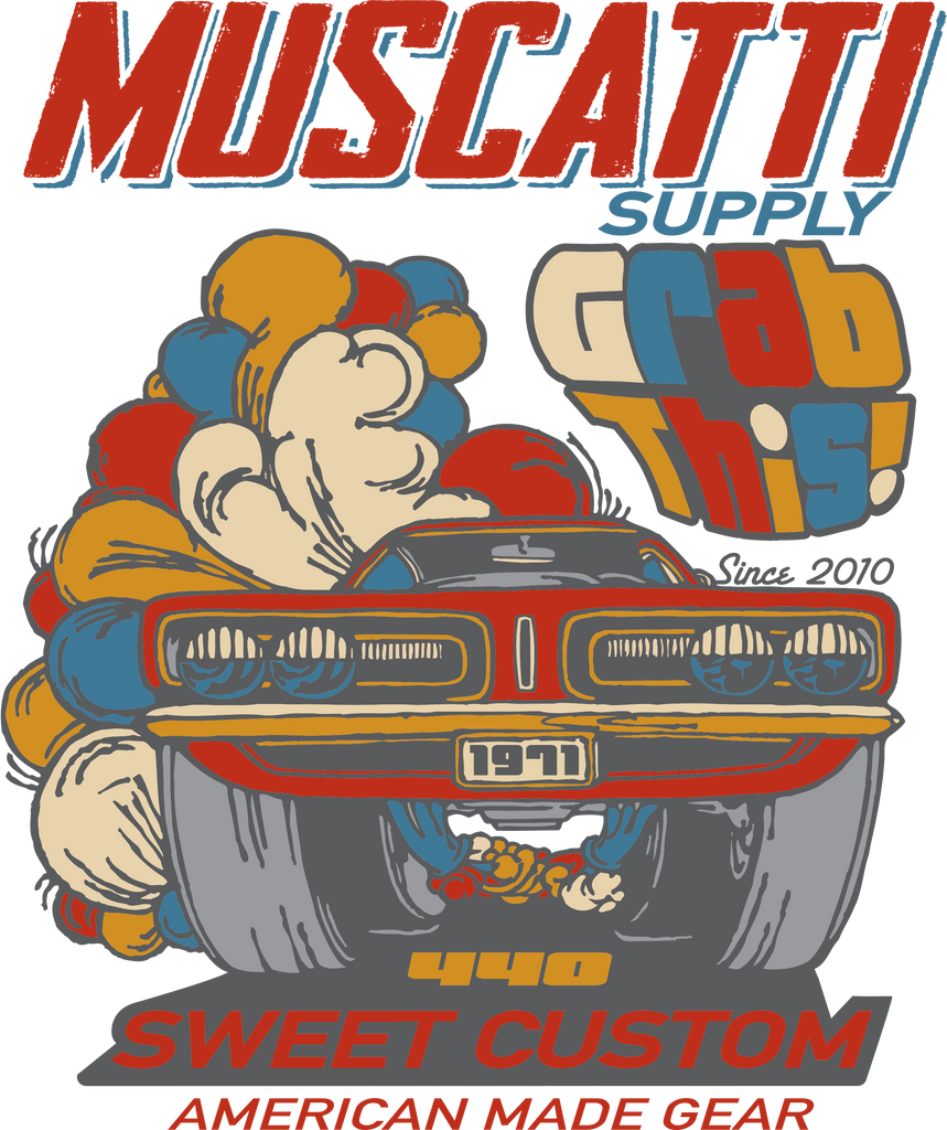 Muscatti Supply Co. : Sweet Custom Mens Short Sleeve Tee Black