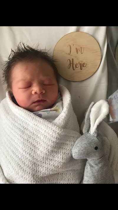 New Edition to Olio Bello Family - Congratulations Taryn & Brodie on arrival of 'Olive' Elizabeth