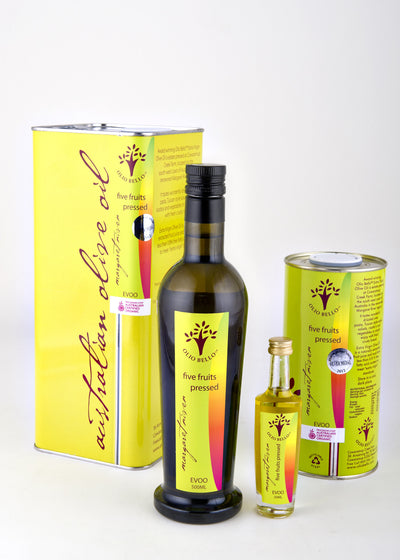 Five Fruits Pressed Extra Virgin Olive Oil