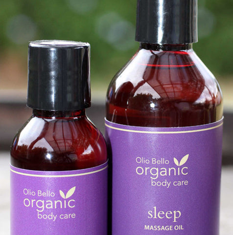 Olio Bello Organic Massage Oil