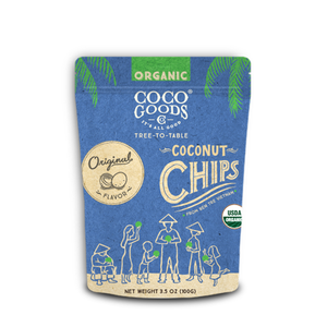 Organic Toasted Coconut Chips Original 3.5 oz
