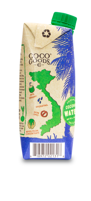 100% Organic Coconut Water 16.9 fl. oz (Pack of 12)