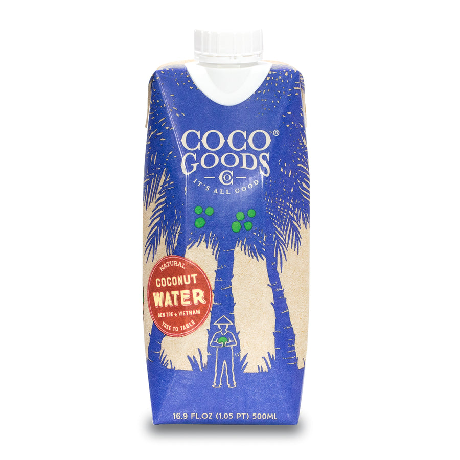 100% Natural Coconut Water 16.9 fl. oz (Pack of 12)