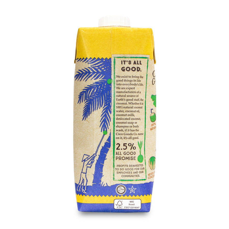 Natural Coconut Water with Freshly Squeezed Pineapple Juice 16.9 fl. oz