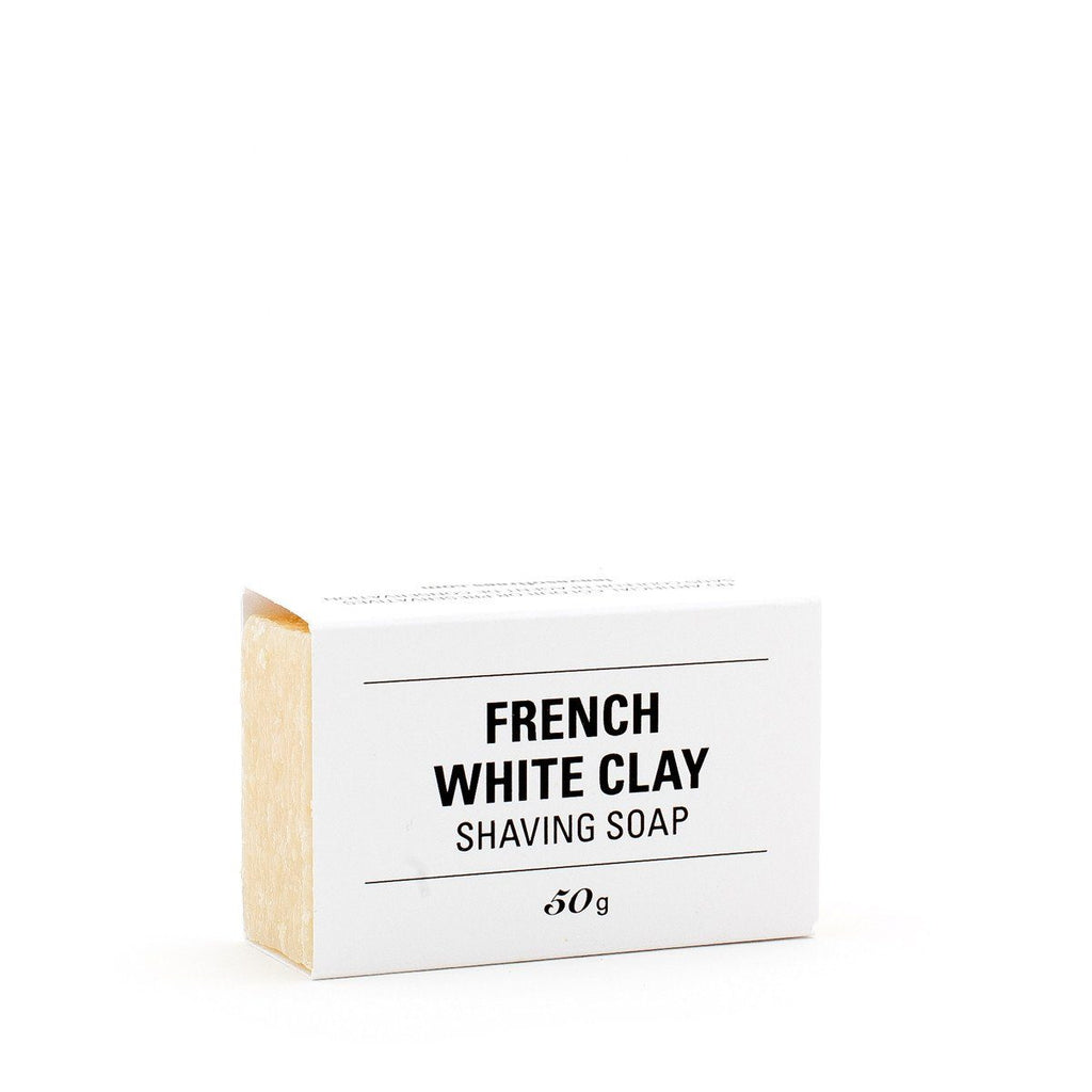 French White Clay Shaving Soap
