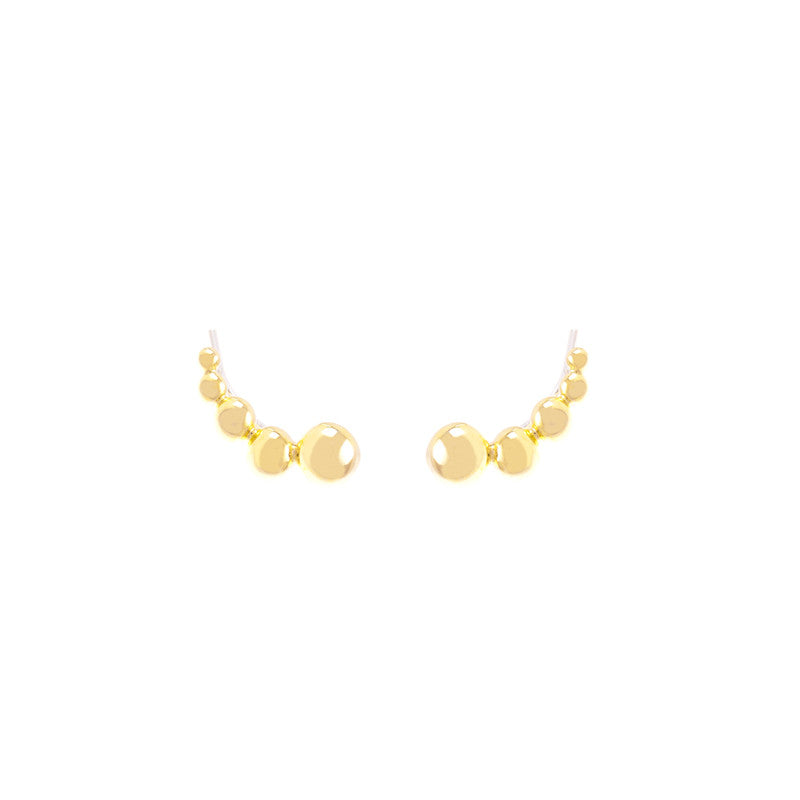 Dahna Ear Climbers Gold