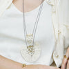 Jya Necklace Brass