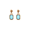 YSL Glass Drop Earrings