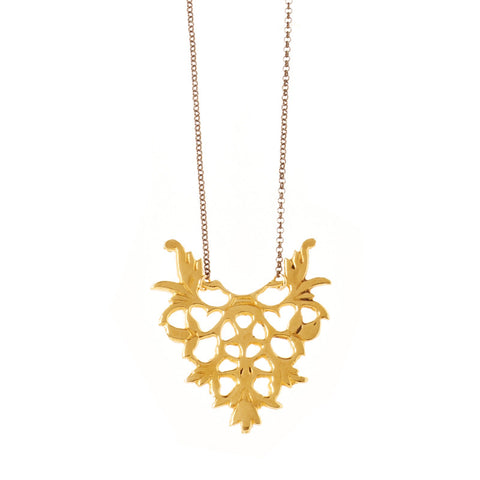 Tara Necklace Brass