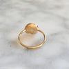 Large Gold Nugget Ring