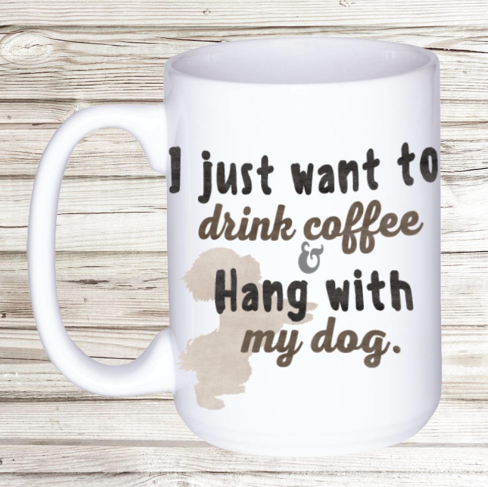 Coffee + Dog