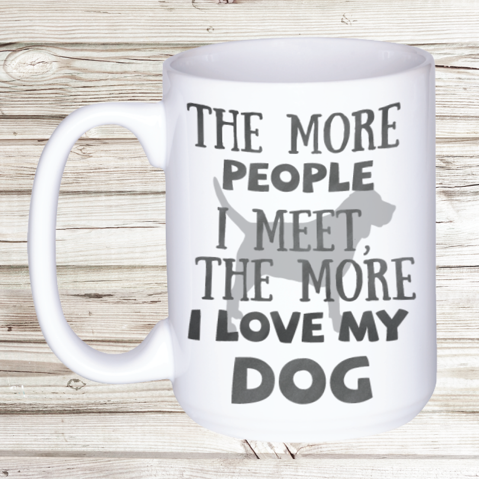 People + Dog Mug