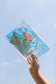 Holographic Clear Pouch