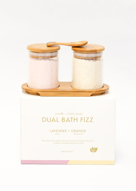 Dual Bath Fizz Set (Lavender/Orange)