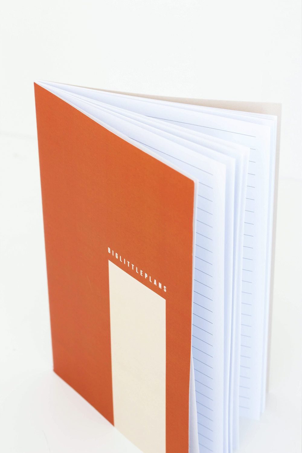 'SECOND' A5 Big Little Plans Softcover Notebook