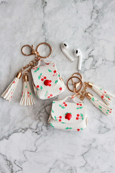 Cherry Tassel Airpods Cases
