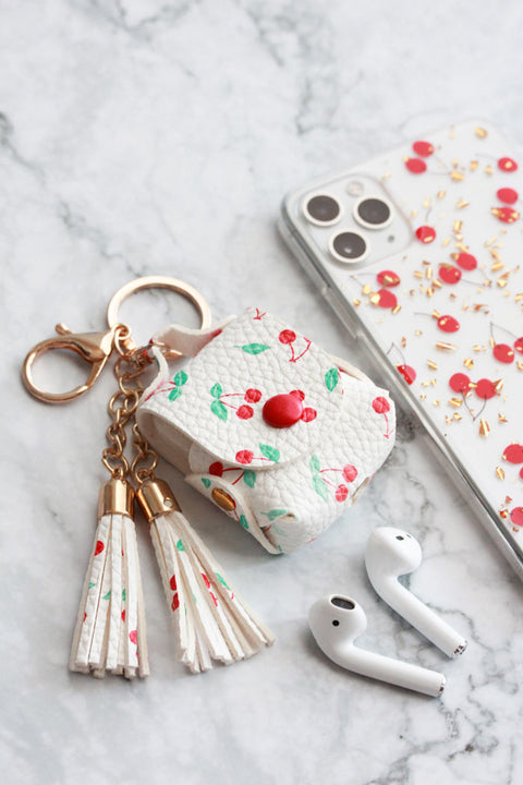 Cherry AirPods Case & iPhone Case Bundle