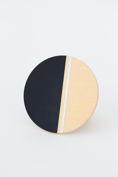 noir cedar moon coasters set of 4