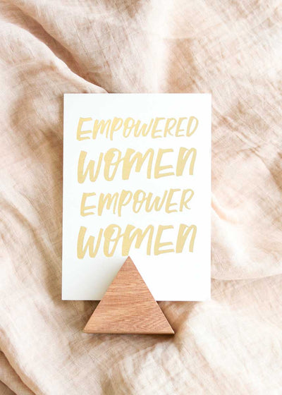 Empowered Women Print & Stand