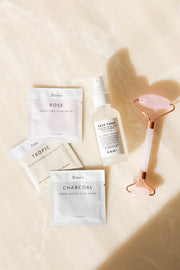 Skincare Travel Kit + Pouch