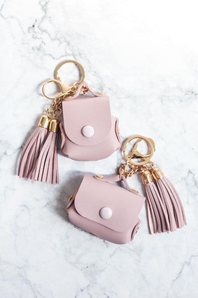 Lilac Tassel Airpods Cases