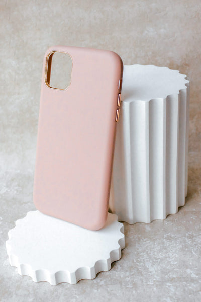 NEW! Vegan Leather iPhone 11 Case - Pink
