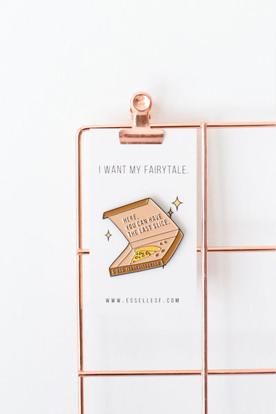 Pizza Fairytale Soft Enamel Pin
