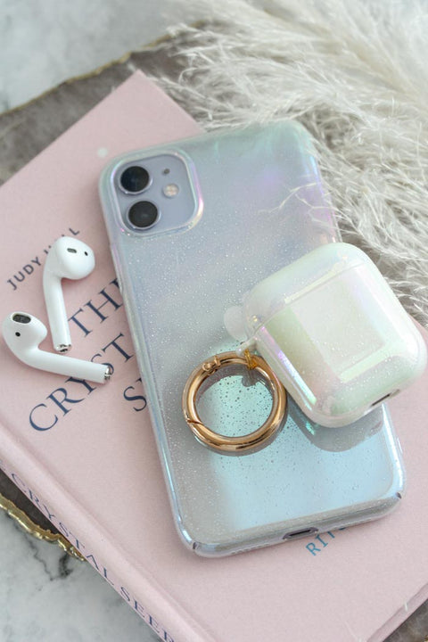 Textured Iridescent AirPods Case