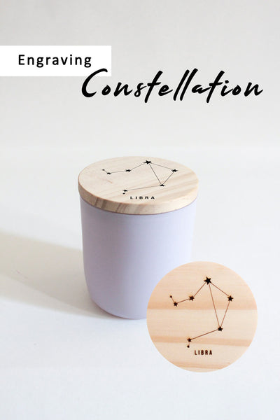 Constellation | *Add-on Engraving For Candle Lid