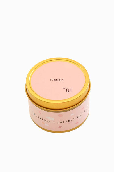 No. 1 Plumeria Travel Candle