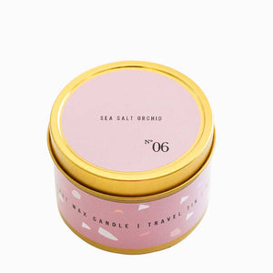 No. 6 Sea Salt Orchid Travel Candle