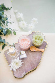 Matcha Mint & Lavender Citrus Bath Salt Set